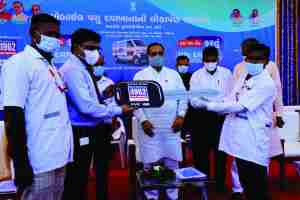 launched Mobile Veterinary Dispensary (MVD) Project