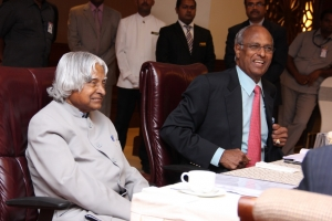 Dr APJ Abdul Kalam joined GVK EMRI as Chairman Emeritus