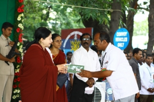 Tamil Nadu- additional ambulances launch – 12th Sep 2012