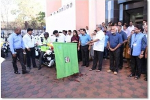 Hon'ble Chief Minister of Goa Sri. Manohar Parrikar Launched 20 First responder bike ambulances on 8th February 2018