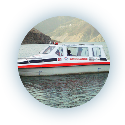 Boat Ambulance