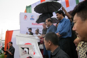 Ambulance Service for Interfacilty Transfers (IFT) was launched on 1st Sep 2013 by Hon'ble Chief Minister of Assam Shri. Tarun Gogoi and Union Health Minister Shri. Gulam Nabi Azad.