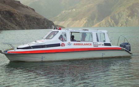 Boat-Ambulance